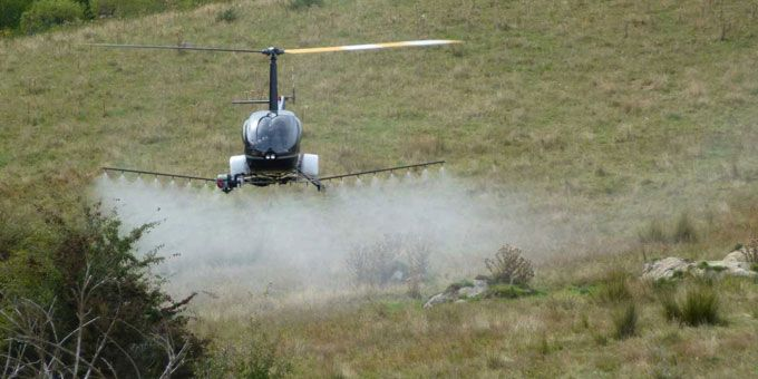 UAVOS Unmanned Helicopter for Precision Farming
