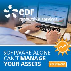 EDF RENEWABLE SERVICES OFFERS A SMARTER WAY TO MANAGE SOLAR PROJECTS
