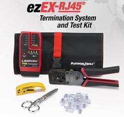 Platinum Tools - ezEX-RJ45 Termination & Test Kit