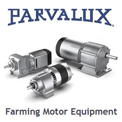 Parvalux Farming motors for Agricultural Applications