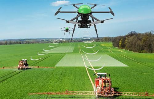 Image result for drones used for agriculture