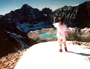 Alastair Monk in Alberta, circa 1999.